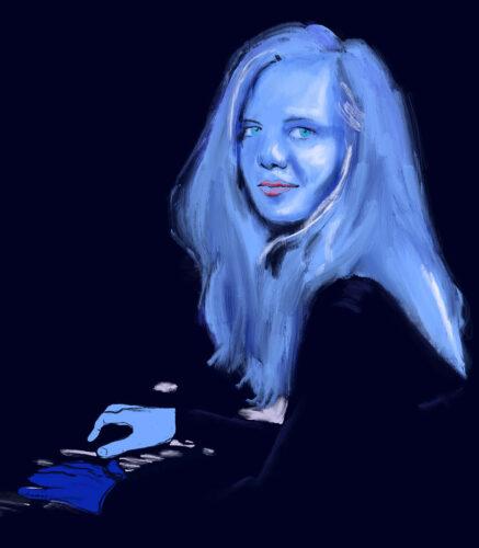 Kathrine Windfeld por Kika Carvalho