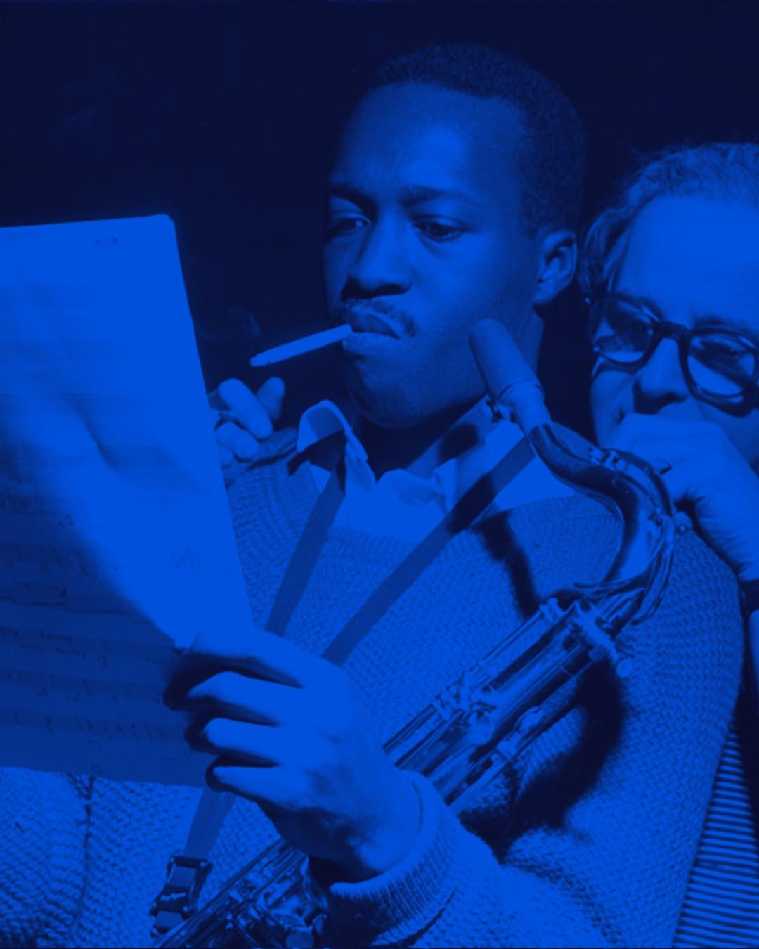 Ilustração de Blue Note Story