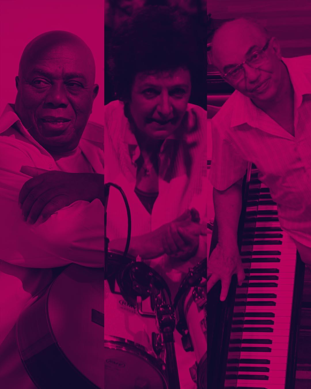 Filó Machado, Amilton Godoy e Lilian Carmona