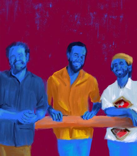 Trio Curupira por Kika Carvalho