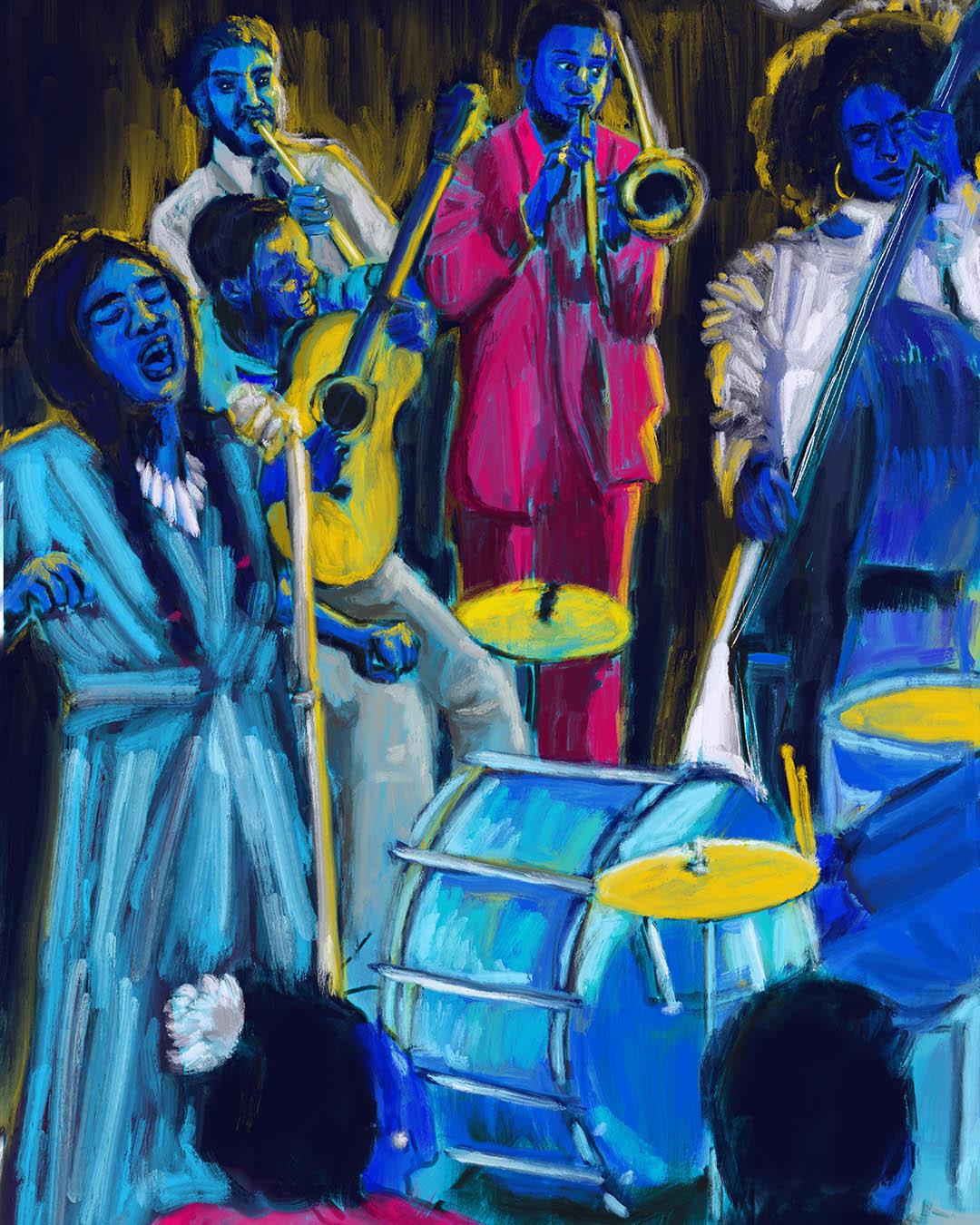 Sesc Jazz por Kika Carvalho
